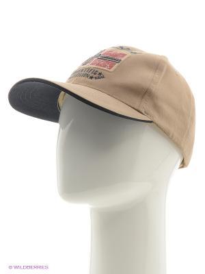 Бейсболка Mezaguz. Цвет: хаки, бронзовый, бледно-розовый
