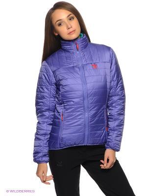 Куртка Salewa. Цвет: фиолетовый