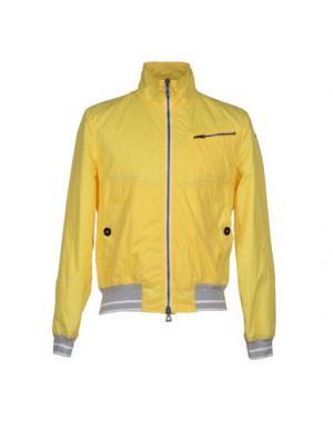 Куртка HISTORIC RESEARCH. Цвет: желтый