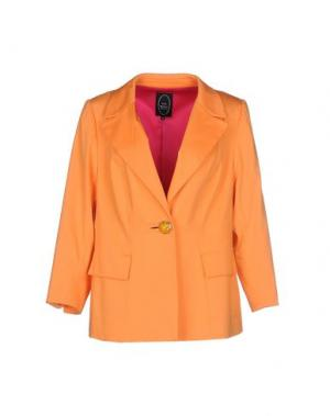 Пиджак IVAN MONTESI. Цвет: оранжевый
