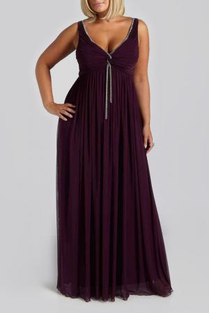 Dress VIVIANA. Цвет: purple