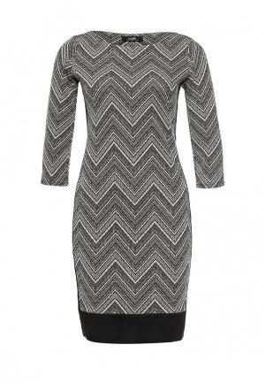 Платье Wallis. Цвет: серый