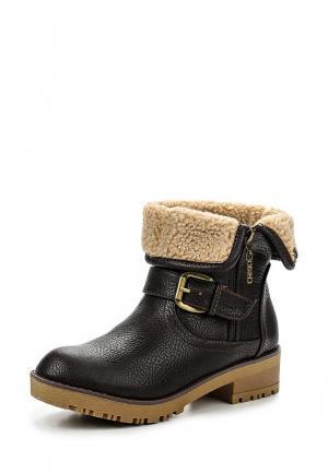 Ботинки Chika10. Цвет: коричневый