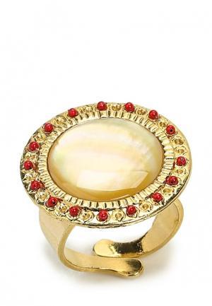 Кольцо Franck Herval. Цвет: золотой
