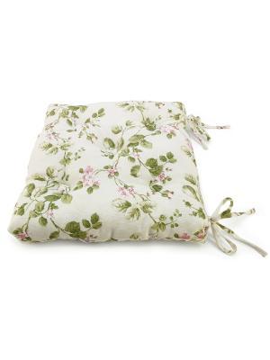 Подушка на стул Gant, 40 х см. Kauffort. Цвет: зеленый, лиловый, розовый