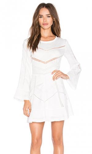 Мини платье madelina IRO. Цвет: белый