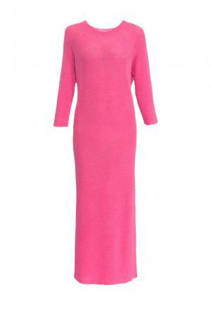Платье из шерсти 153300 Norsoyan. Цвет: розовый
