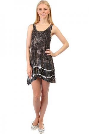 Платье женское  AlcoDress Warm Emblem. Цвет: черный,белый,мультиколор