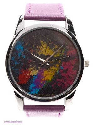 Часы Mitya Veselkov Палитра. Цвет: сиреневый