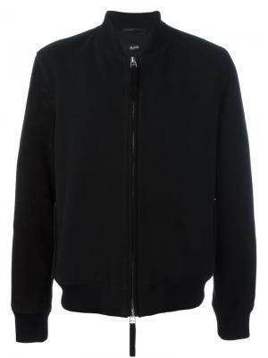 Куртка-бомбер Blood Brother. Цвет: чёрный