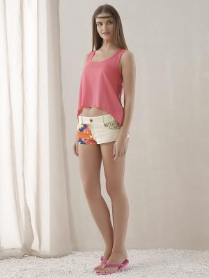 Комплект одежды RELAX MODE. Цвет: розовый, кремовый, оранжевый