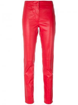 Прямые брюки Loewe. Цвет: красный
