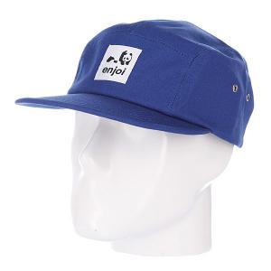 Бейсболка пятипанелька  Unoriginal Royal Enjoi. Цвет: синий