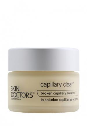 Крем для кожи лица с проявлениями купероза Skin Doctors. Цвет: желтый