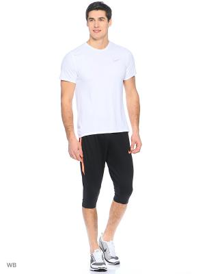 Капри M NK DRY SQD PANT 3/4 KP Nike. Цвет: черный, красный