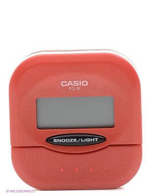Часы СASIO PQ-30-4E CASIO. Цвет: красный