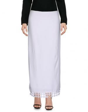 Длинная юбка EDUN. Цвет: белый