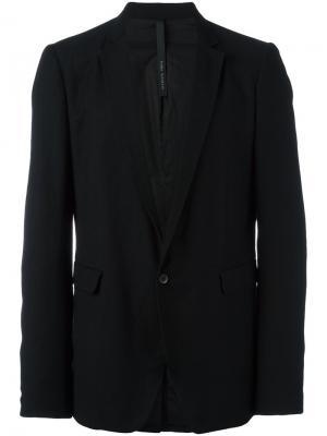 Пиджак с застежкой на пуговицу Poème Bohémien. Цвет: чёрный