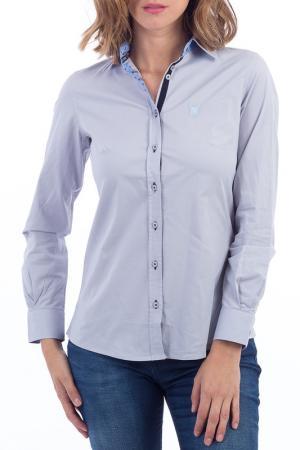 Рубашка POLO CLUB С.H.A.. Цвет: серый