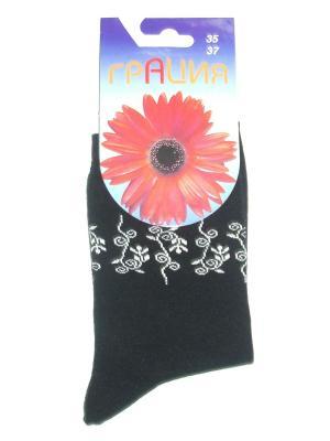 Носки женские М 1014 Грация. Цвет: черный