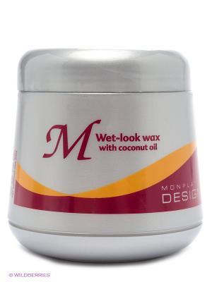 Воск для придания влажного вида волосам, 150мл Mon Platin DSM. Цвет: серый