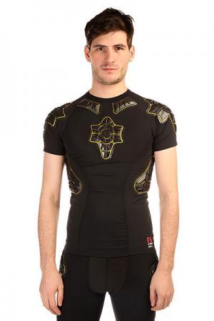 Защита  Pro-x Compression Shirt Black/Yellow G-Form. Цвет: черный,желтый