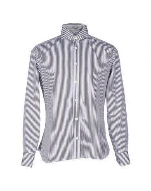 Pубашка DANOLIS. Цвет: темно-коричневый