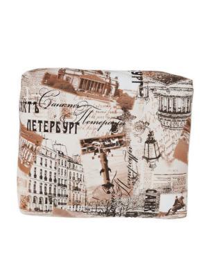 Декоративная подушка Санкт-Петербург LACCOM. Цвет: коричневый