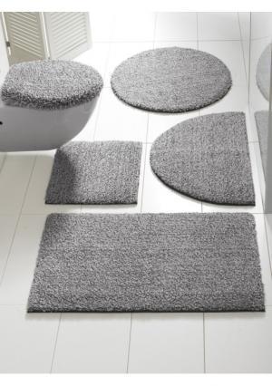Коврик для ванной Heine Home. Цвет: серый/белый