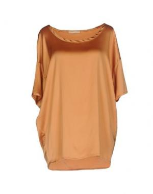 Блузка NIOI. Цвет: ржаво-коричневый