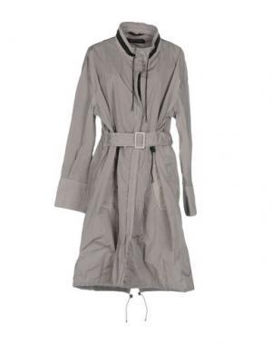 Легкое пальто AHIRAIN. Цвет: серый