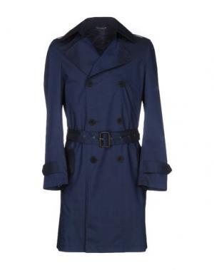 Легкое пальто RICHARD JAMES. Цвет: темно-синий