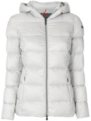 Куртка-пуховик Rrd. Цвет: серый