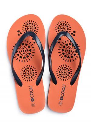 Пантолеты Play Today. Цвет: оранжевый