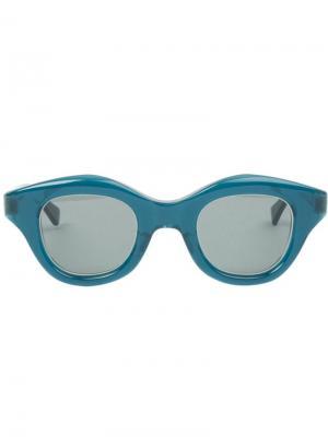 Солнцезащитные очки Glam Hakusan. Цвет: синий