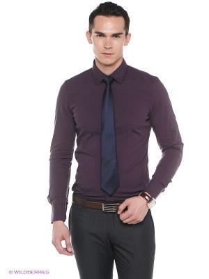 Рубашка Oodji. Цвет: темно-фиолетовый