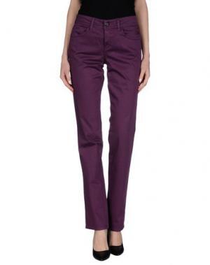 Повседневные брюки DEK'HER. Цвет: темно-фиолетовый
