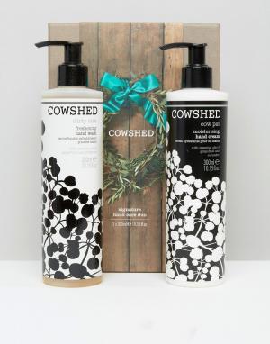 Cowshed Фирменный набор по уходу за кожей рук. Цвет: бесцветный