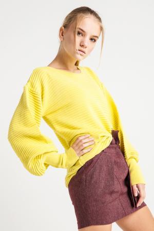 Свитер BGN. Цвет: yellow, желтый