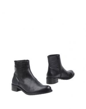 Полусапоги и высокие ботинки BAGATT. Цвет: черный