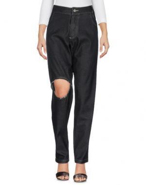 Джинсовые брюки TELFAR. Цвет: черный