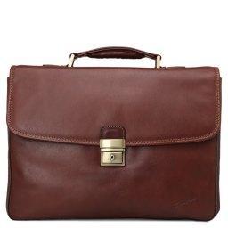 Портфель  5127 коричневый GERARD HENON