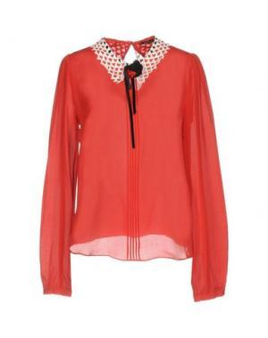 Блузка HANITA. Цвет: красный