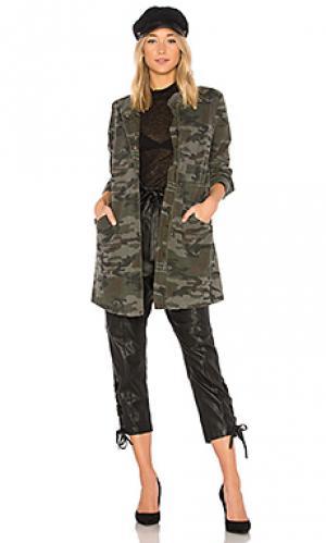 Куртка милитари jadore Etienne Marcel. Цвет: зеленый