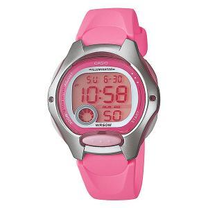 Электронные часы  Collection LW-200-4B Casio. Цвет: розовый,серый