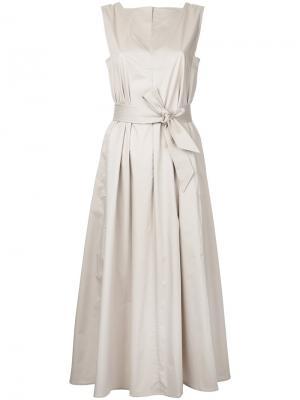 Flared dress Lemaire. Цвет: телесный