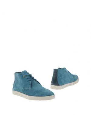 Полусапоги и высокие ботинки CLAE. Цвет: бирюзовый