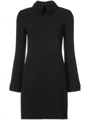 Layered collar dress Brandon Maxwell. Цвет: чёрный