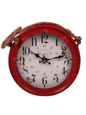 Часы настенные 22*6см PATRICIA. Цвет: красный