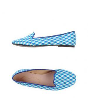 Мокасины PENELOPE. Цвет: синий